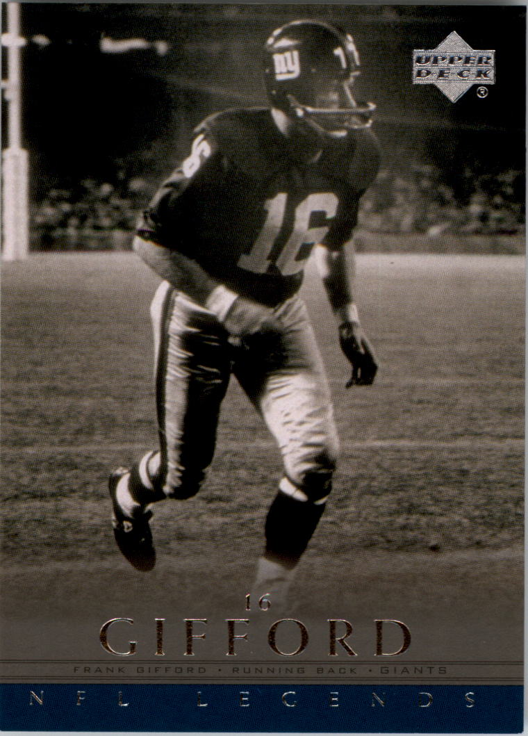 2000 Upper Deck Legends #45 Frank Gifford
