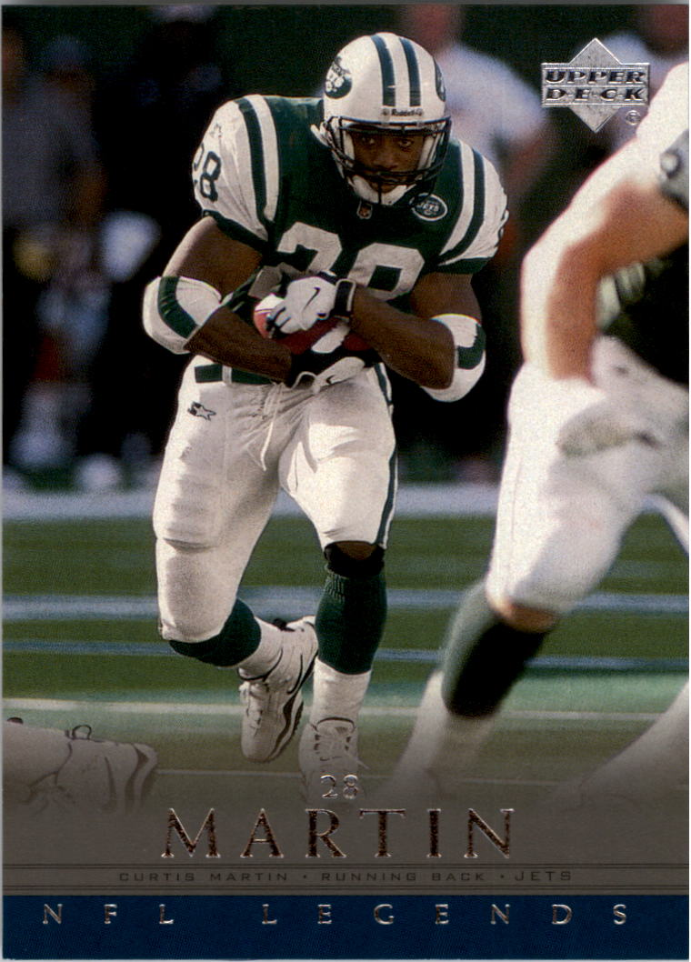 2000 Upper Deck Legends #49 Curtis Martin