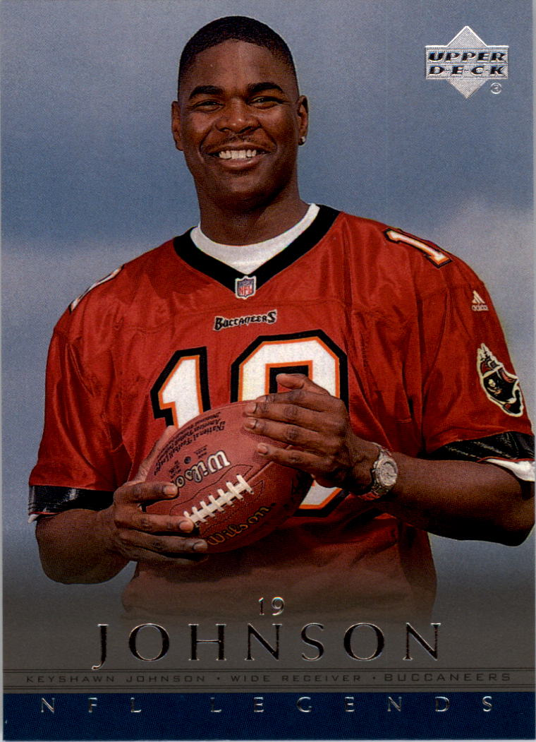 2000 Upper Deck Legends #50 Keyshawn Johnson
