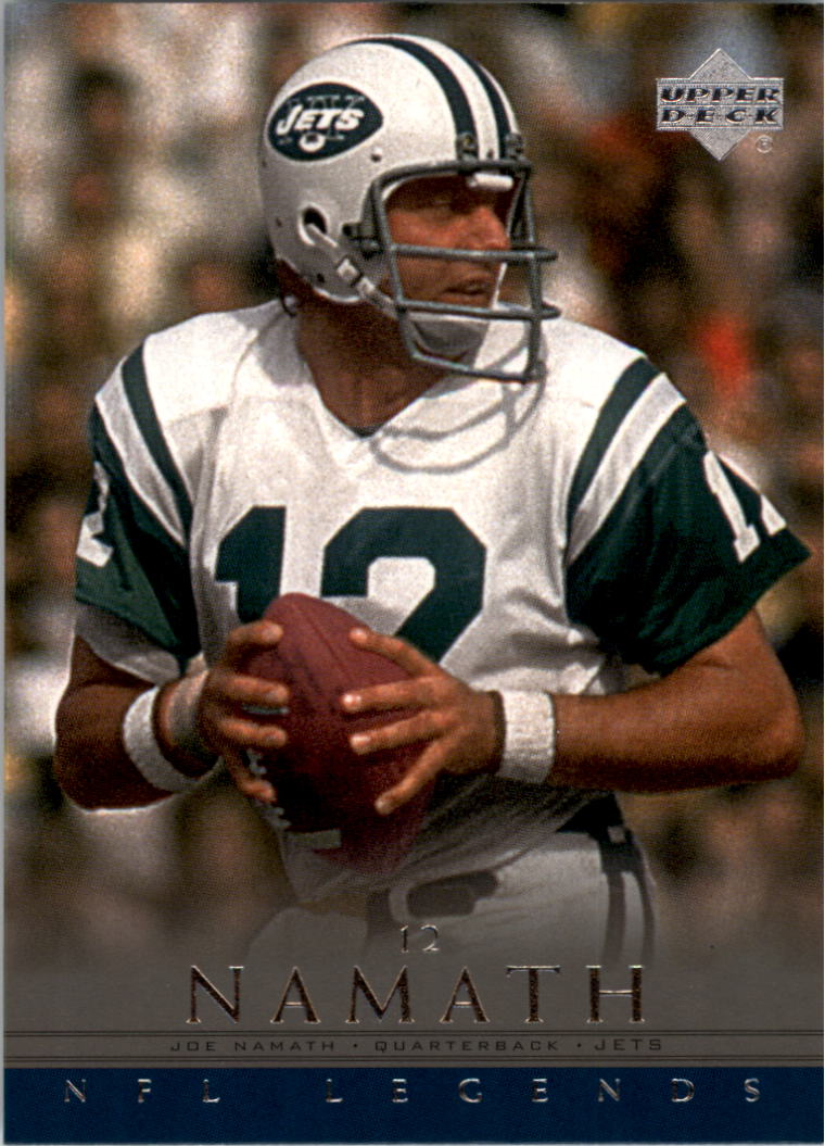2000 Upper Deck Legends #51 Joe Namath