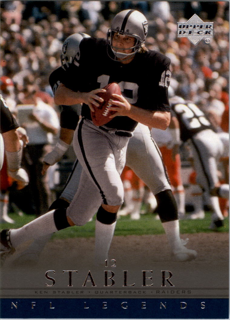 2000 Upper Deck Legends #54 Ken Stabler