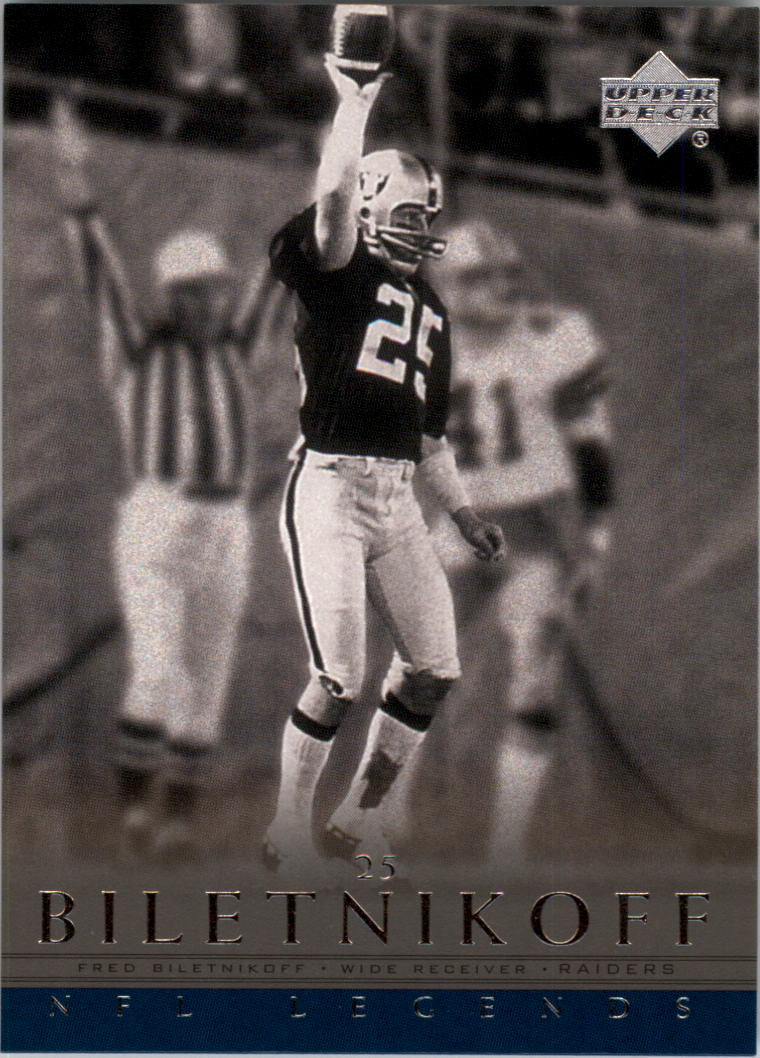 2000 Upper Deck Legends #55 Fred Biletnikoff
