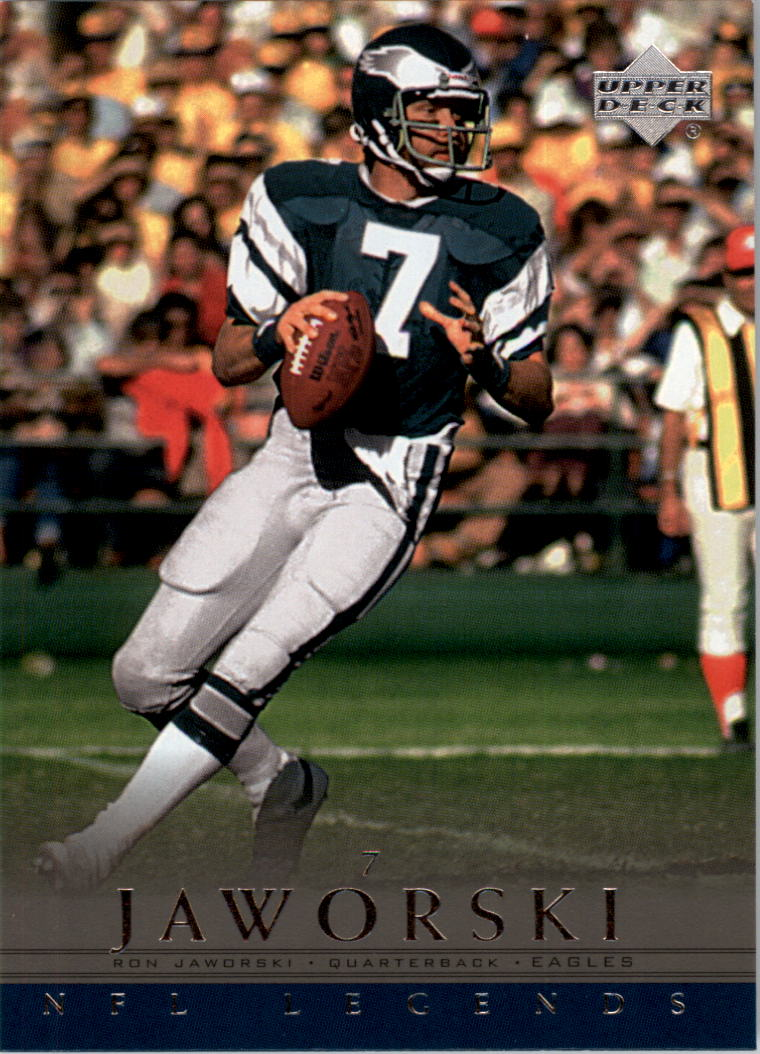 2000 Upper Deck Legends #57 Ron Jaworski