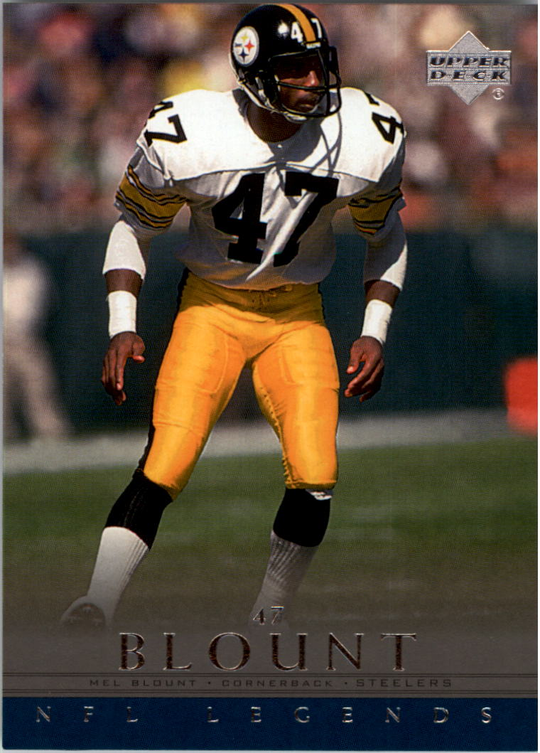 2000 Upper Deck Legends #61 Mel Blount
