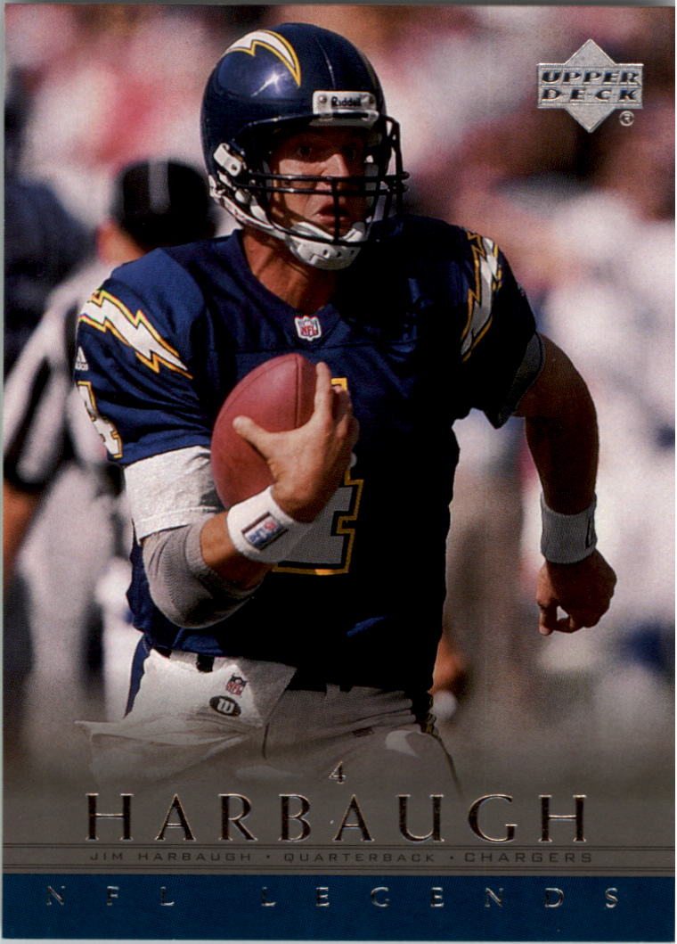 2000 Upper Deck Legends #65 Jim Harbaugh