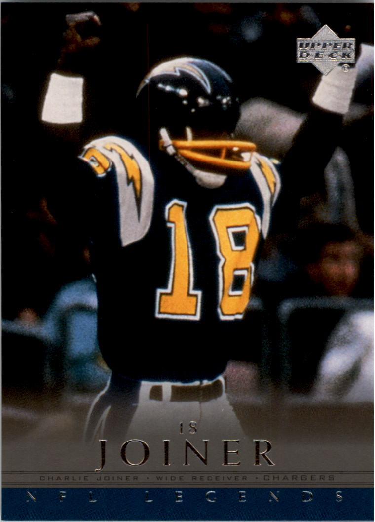 2000 Upper Deck Legends #67 Charlie Joiner