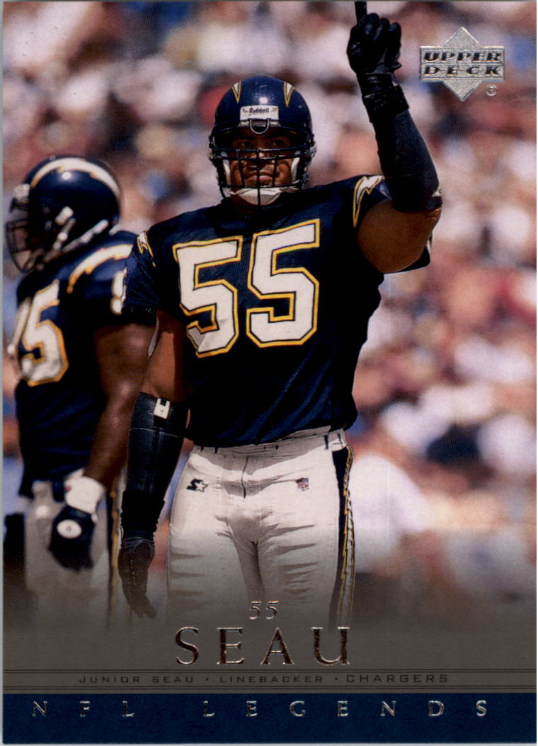 2000 Upper Deck Legends #68 Junior Seau