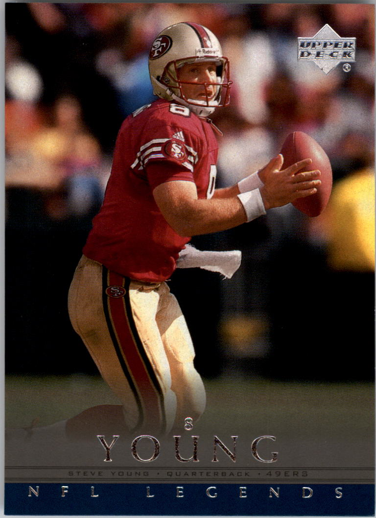 2000 Upper Deck Legends #70 Steve Young