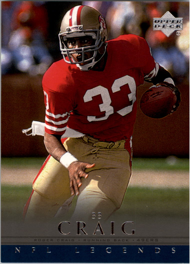 2000 Upper Deck Legends #72 Roger Craig
