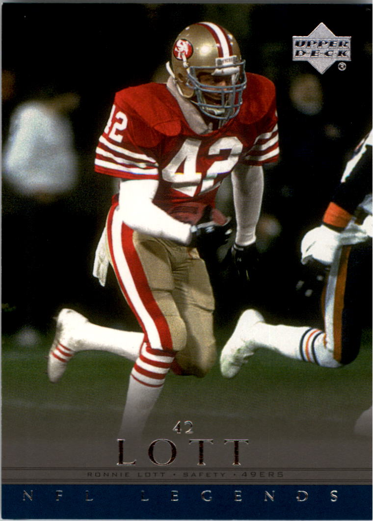 2000 Upper Deck Legends #73 Ronnie Lott