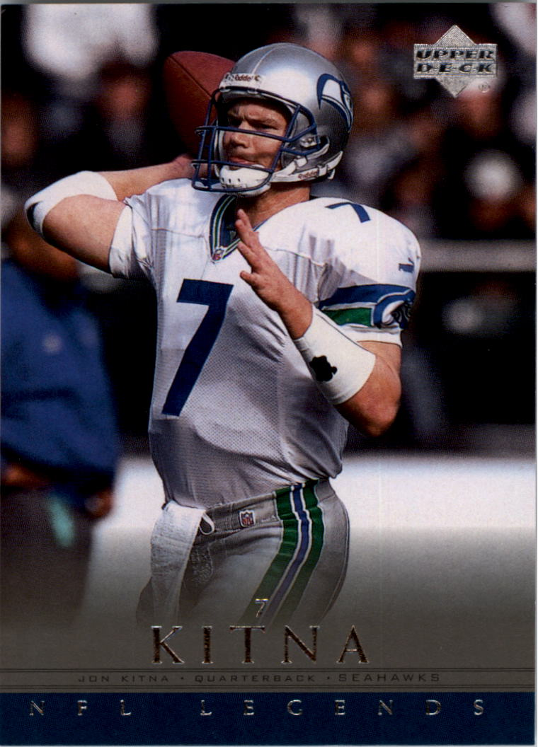 2000 Upper Deck Legends #74 Jon Kitna
