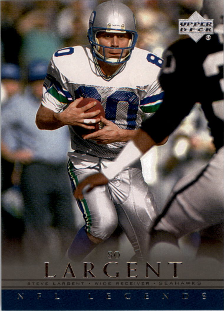 2000 Upper Deck Legends #75 Steve Largent