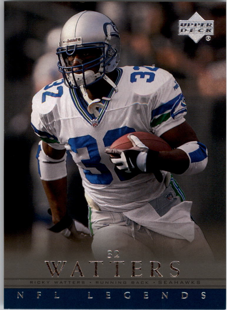 2000 Upper Deck Legends #76 Ricky Watters