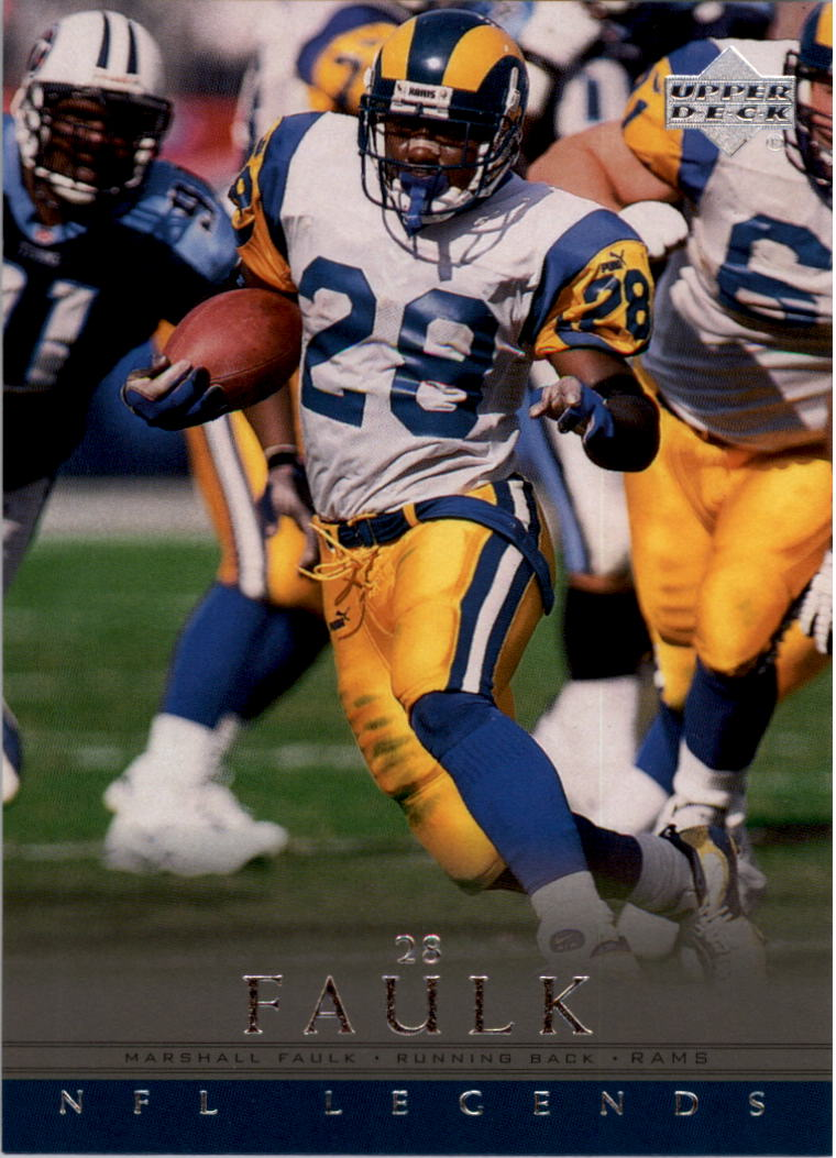 2000 Upper Deck Legends #78 Marshall Faulk