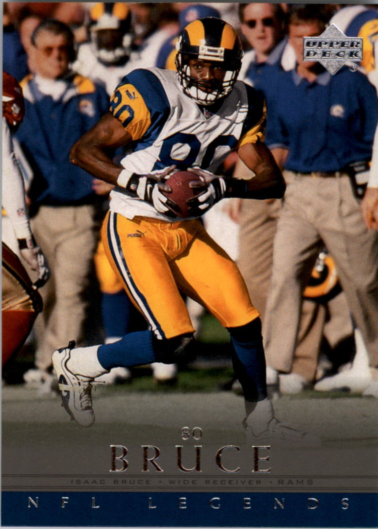 2000 Upper Deck Legends #79 Isaac Bruce