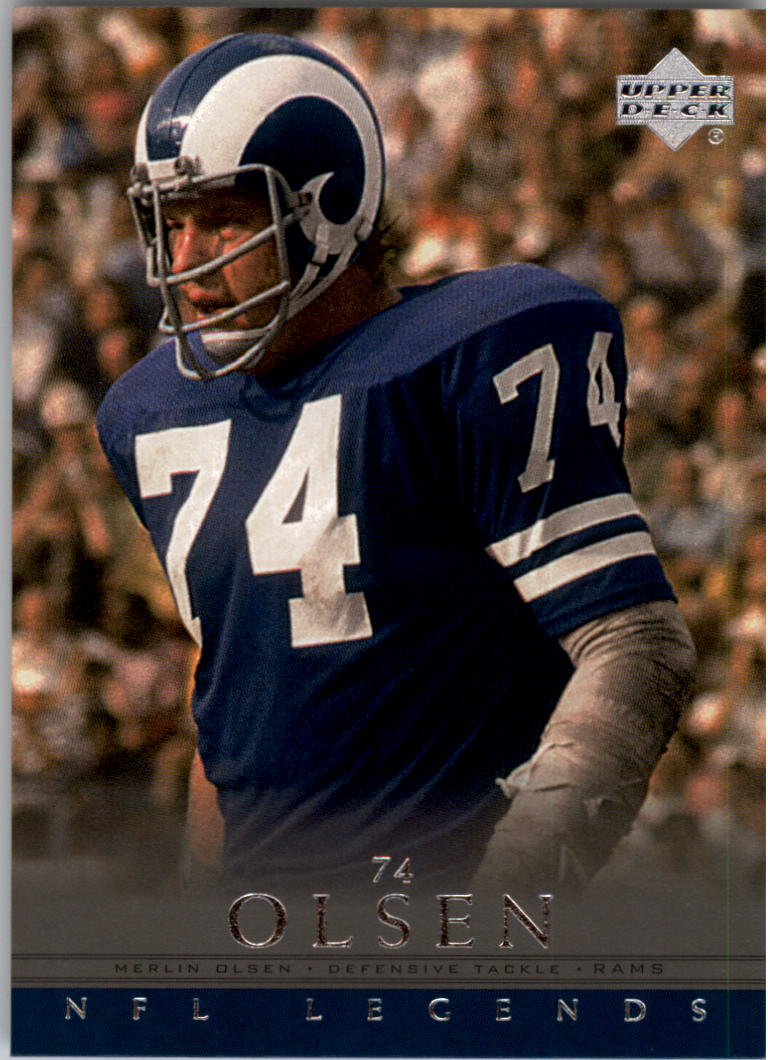 2000 Upper Deck Legends #80 Merlin Olsen