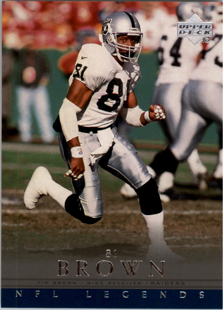 2000 Upper Deck Legends #82 Tim Brown