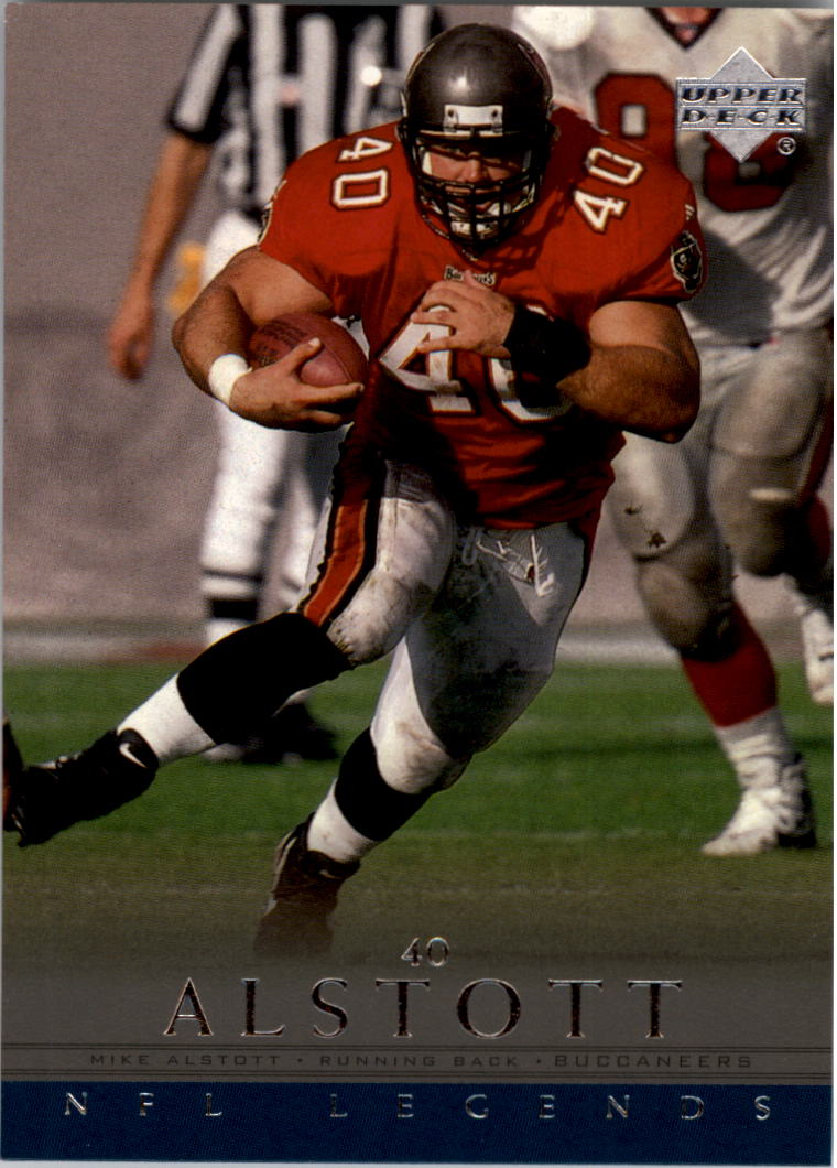 2000 Upper Deck Legends #84 Mike Alstott