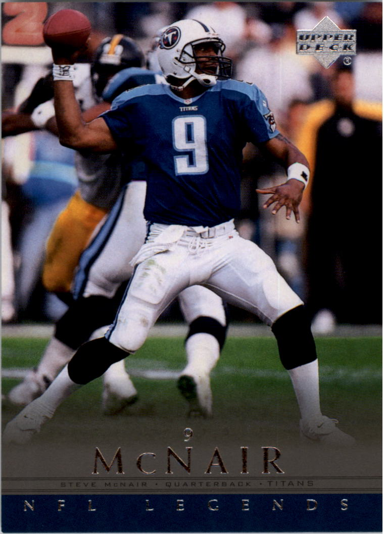 2000 Upper Deck Legends #86 Steve McNair