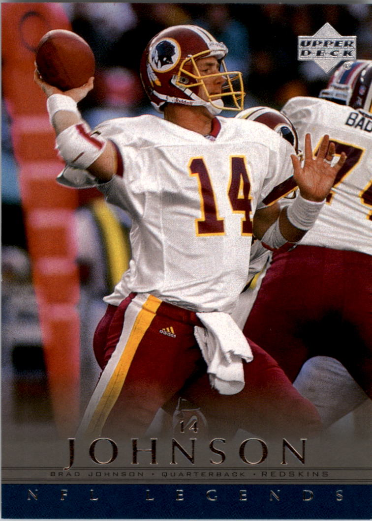 2000 Upper Deck Legends #87 Brad Johnson