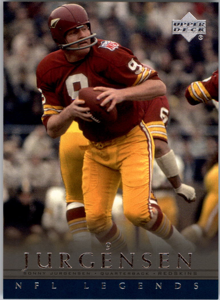 2000 Upper Deck Legends #88 Sonny Jurgensen