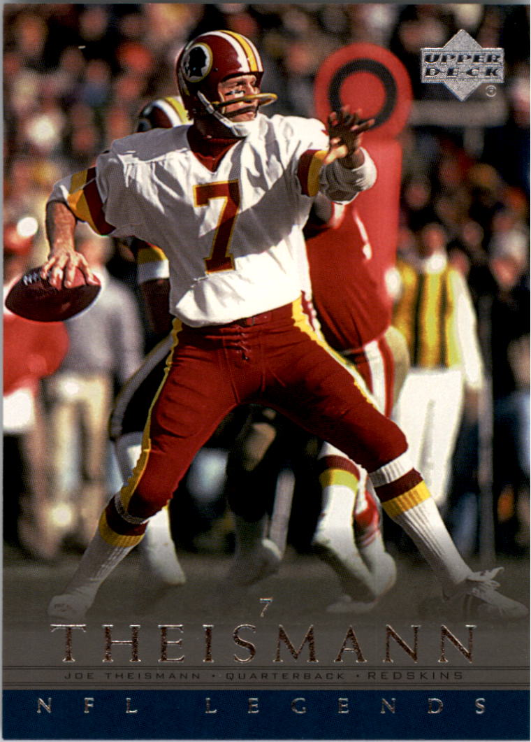 2000 Upper Deck Legends #90 Joe Theismann front image