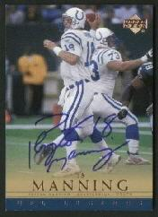 2000 Upper Deck Legends Autographs #PM Peyton Manning