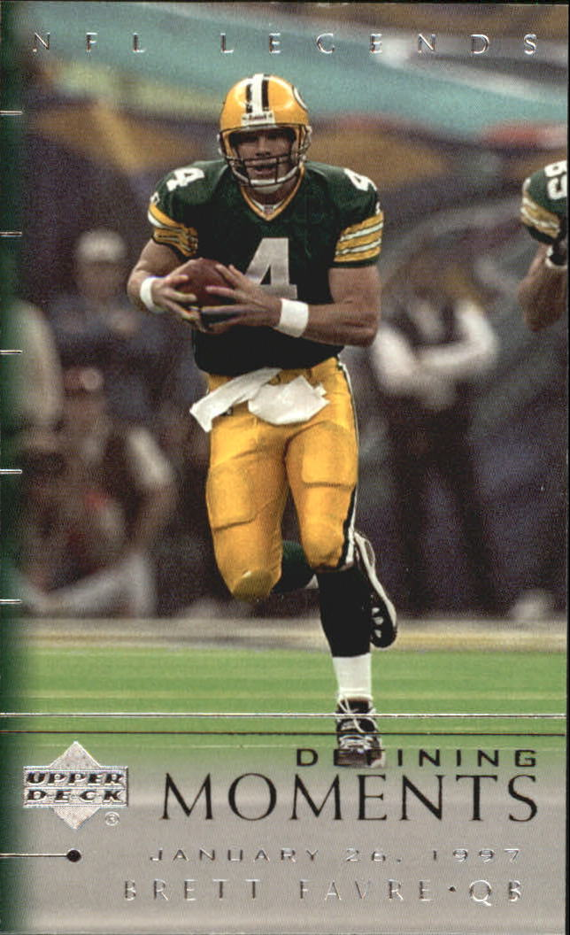 2000 Upper Deck Legends Defining Moments #DM10 Brett Favre