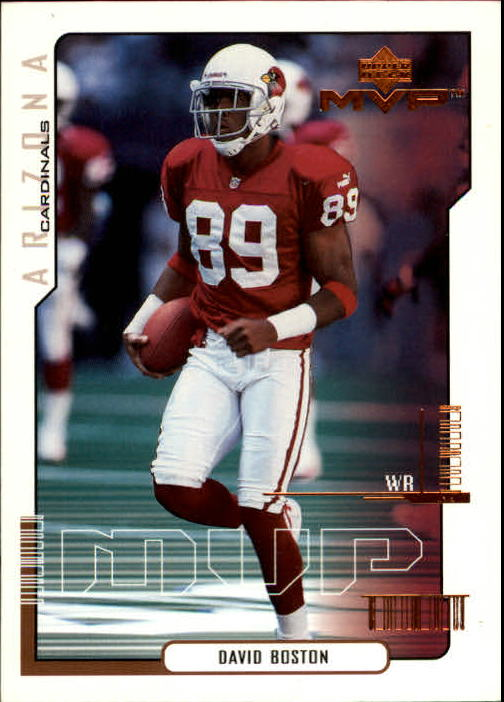 2000 Upper Deck MVP #4 David Boston