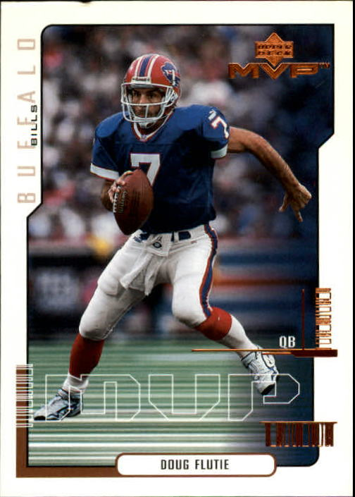 2000 Upper Deck MVP #22 Doug Flutie