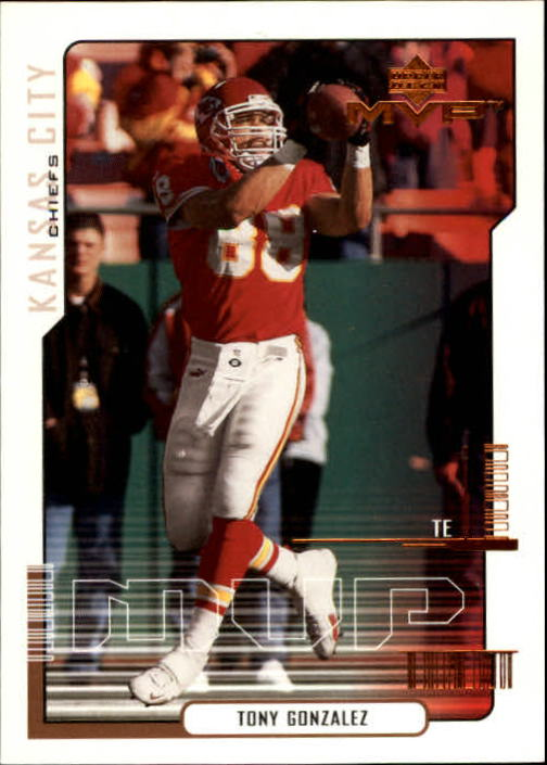 2000 Upper Deck MVP #80 Tony Gonzalez