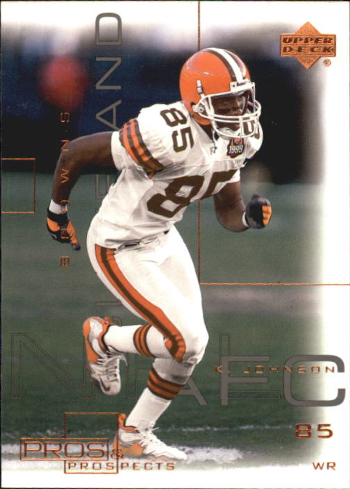 2000 Upper Deck Pros and Prospects #19 Kevin Johnson