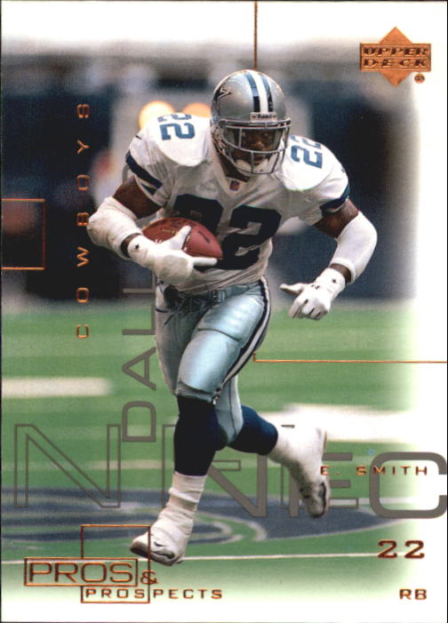 2000 Upper Deck Pros and Prospects #22 Emmitt Smith