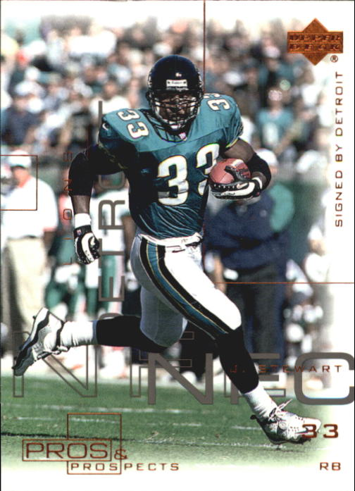 2000 Upper Deck Pros and Prospects #30 James O. Stewart