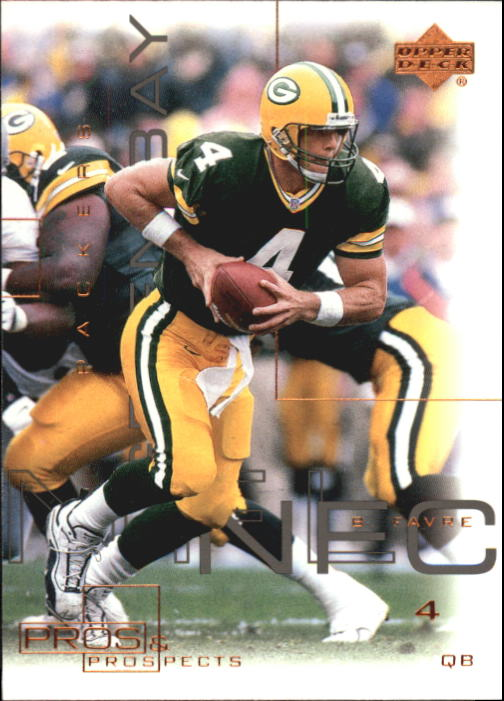 2000 Upper Deck Pros and Prospects #31 Brett Favre