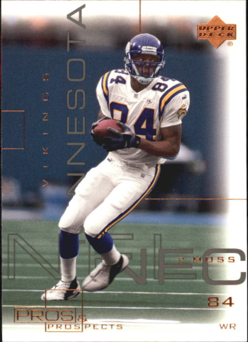 2000 Upper Deck Pros and Prospects #45 Randy Moss