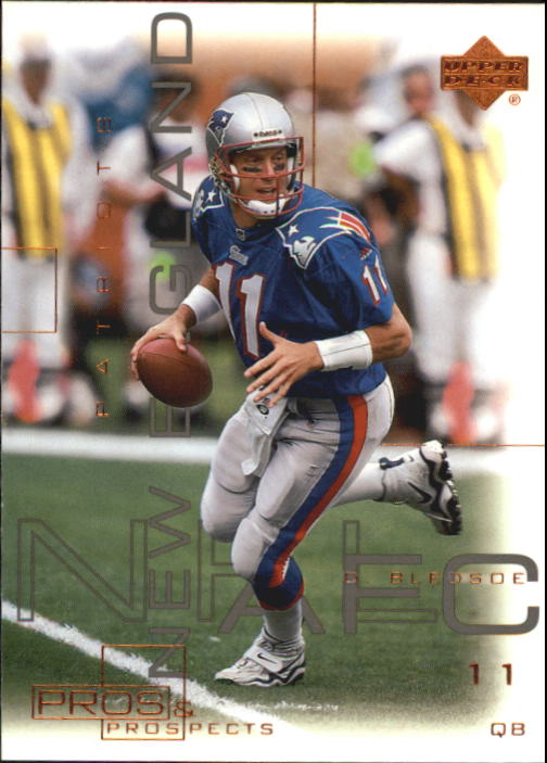 2000 Upper Deck Pros and Prospects #48 Drew Bledsoe