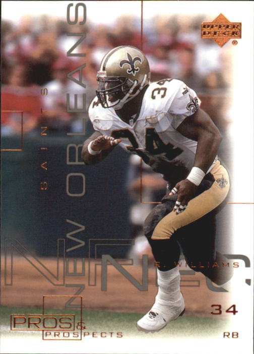 2000 Upper Deck Pros and Prospects #50 Ricky Williams