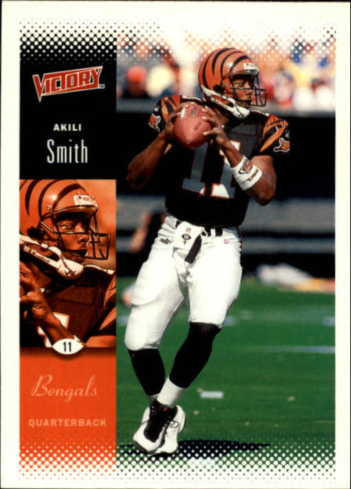 2000 Upper Deck Victory #40 Akili Smith