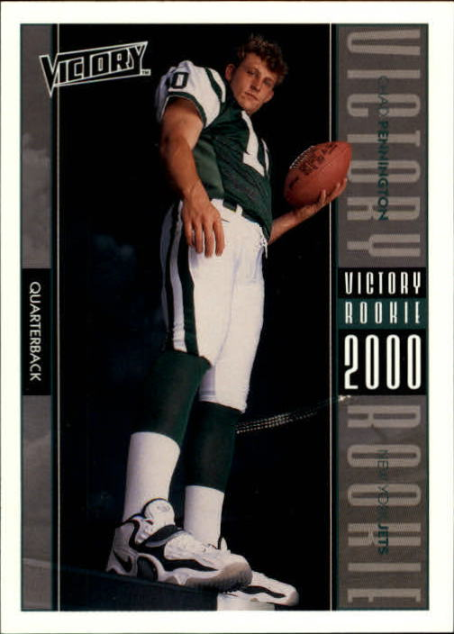 2000 Upper Deck Victory #276 Chad Pennington RC