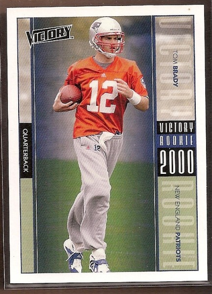 2000 Upper Deck Victory #326 Tom Brady RC