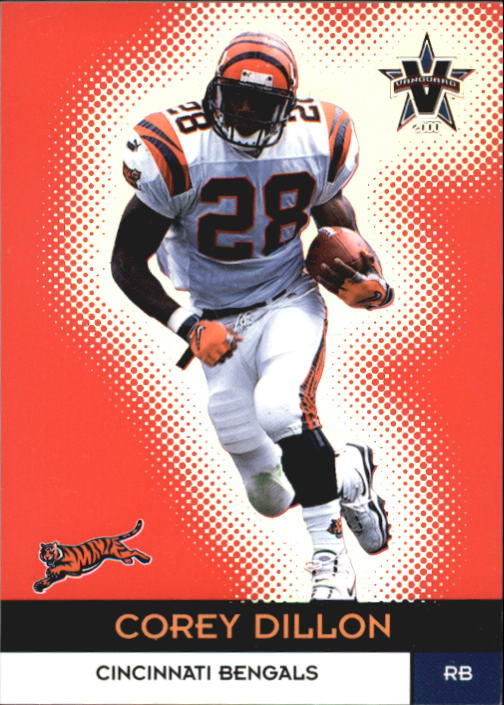 2000 Vanguard #9 Corey Dillon