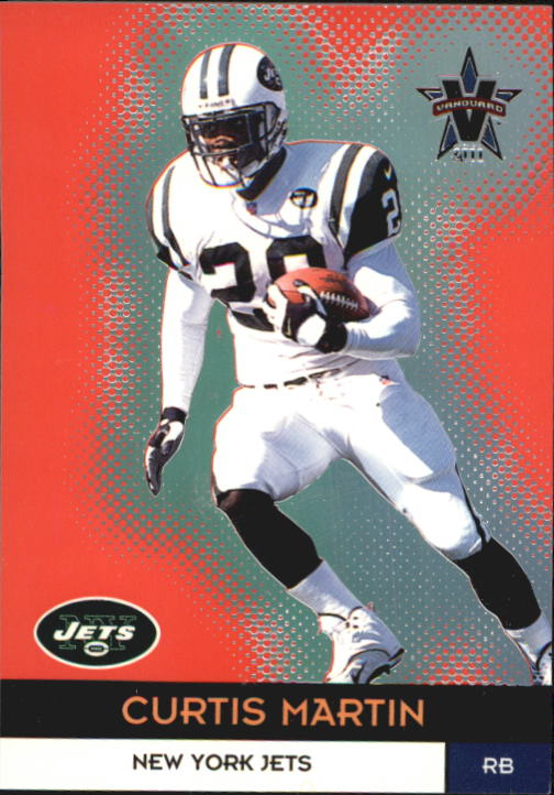 2000 Vanguard #42 Curtis Martin