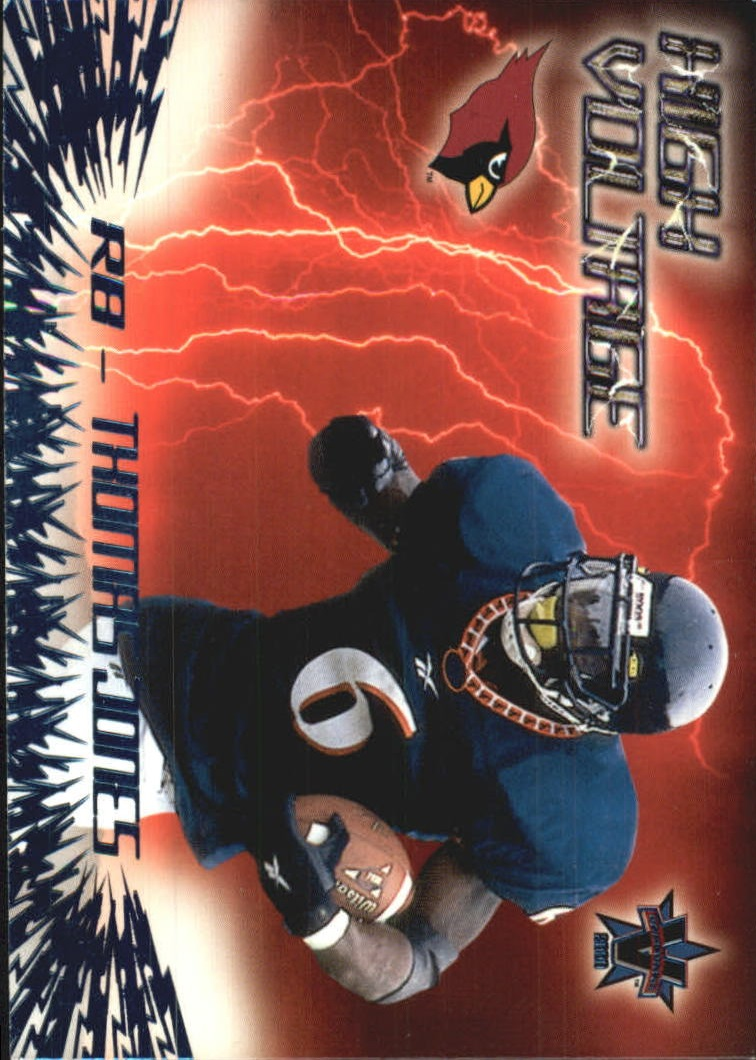 2000 Vanguard High Voltage #1 Thomas Jones
