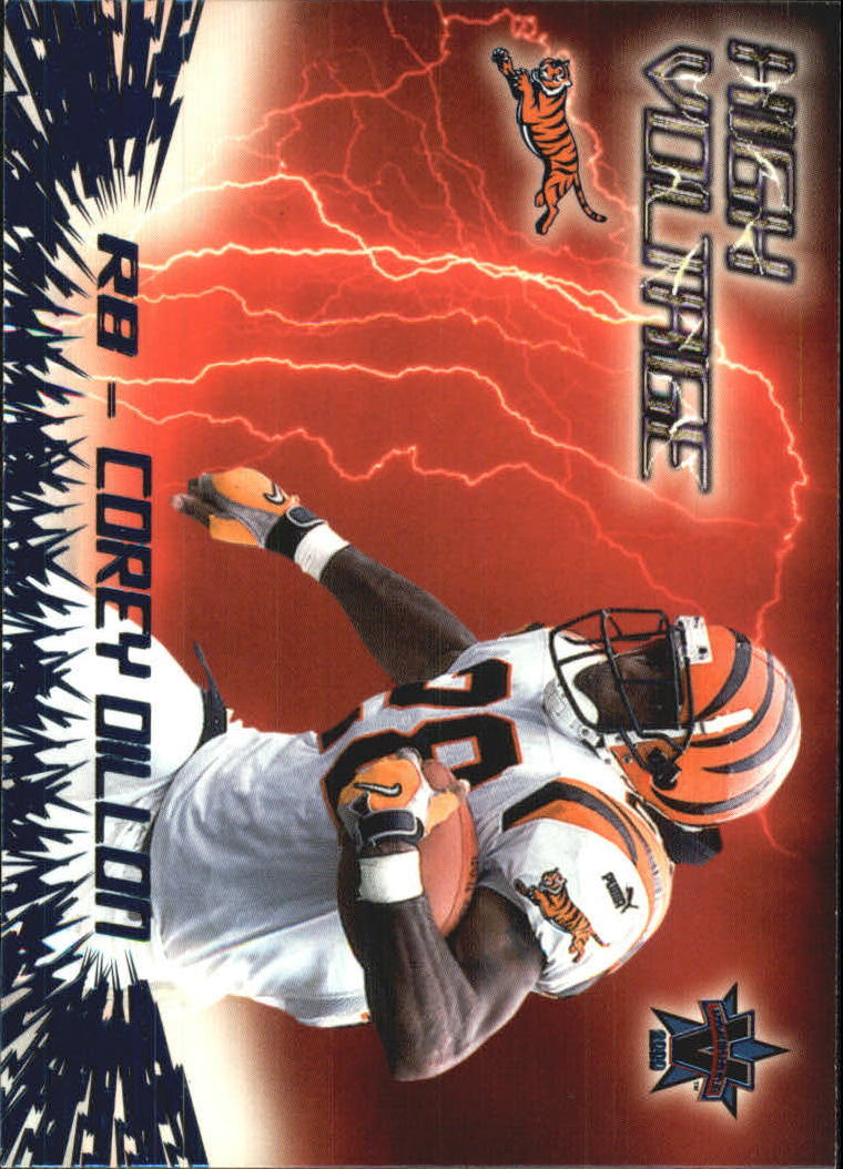 2000 Vanguard High Voltage #5 Corey Dillon