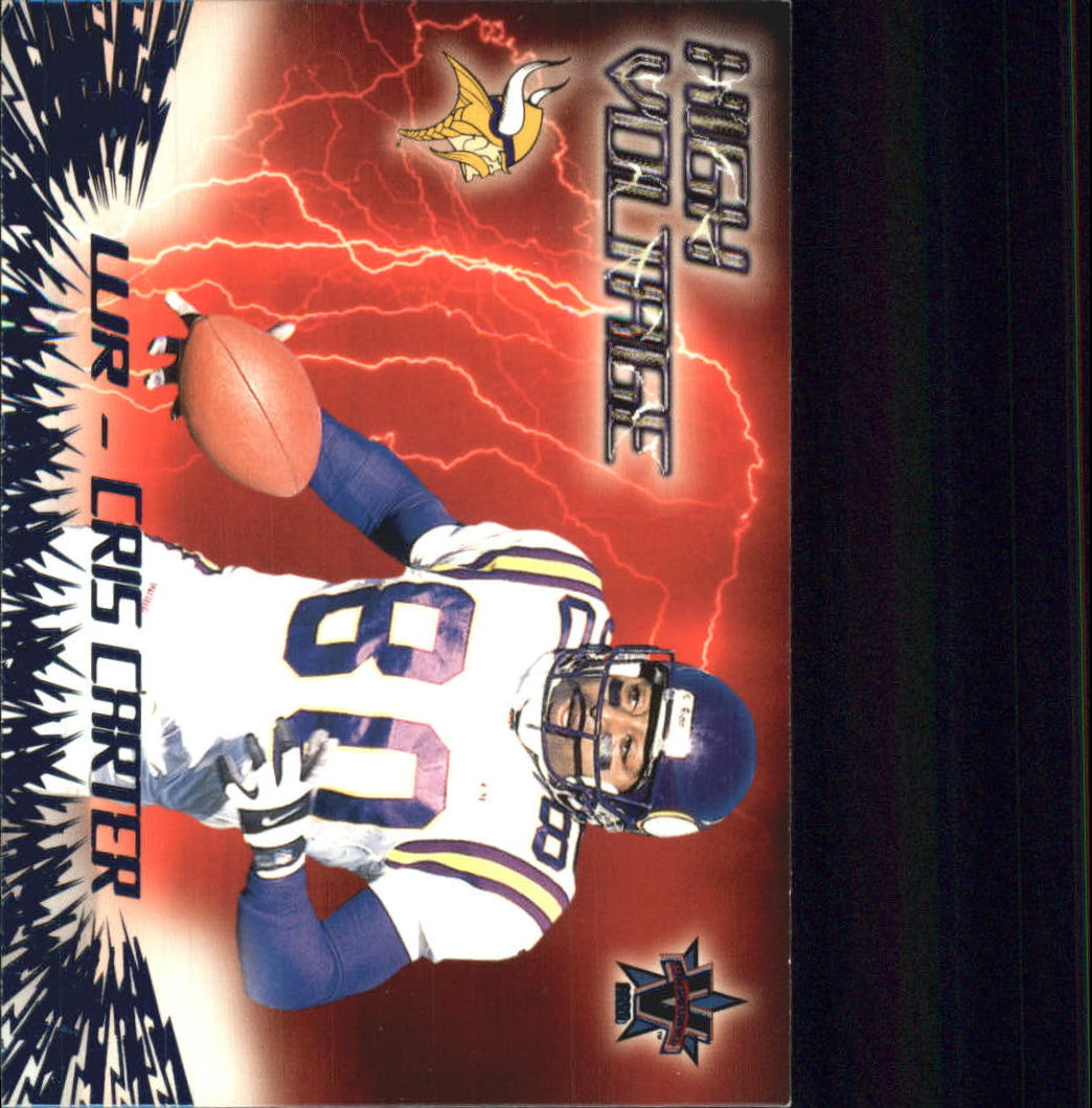 2000 Vanguard High Voltage #19 Cris Carter