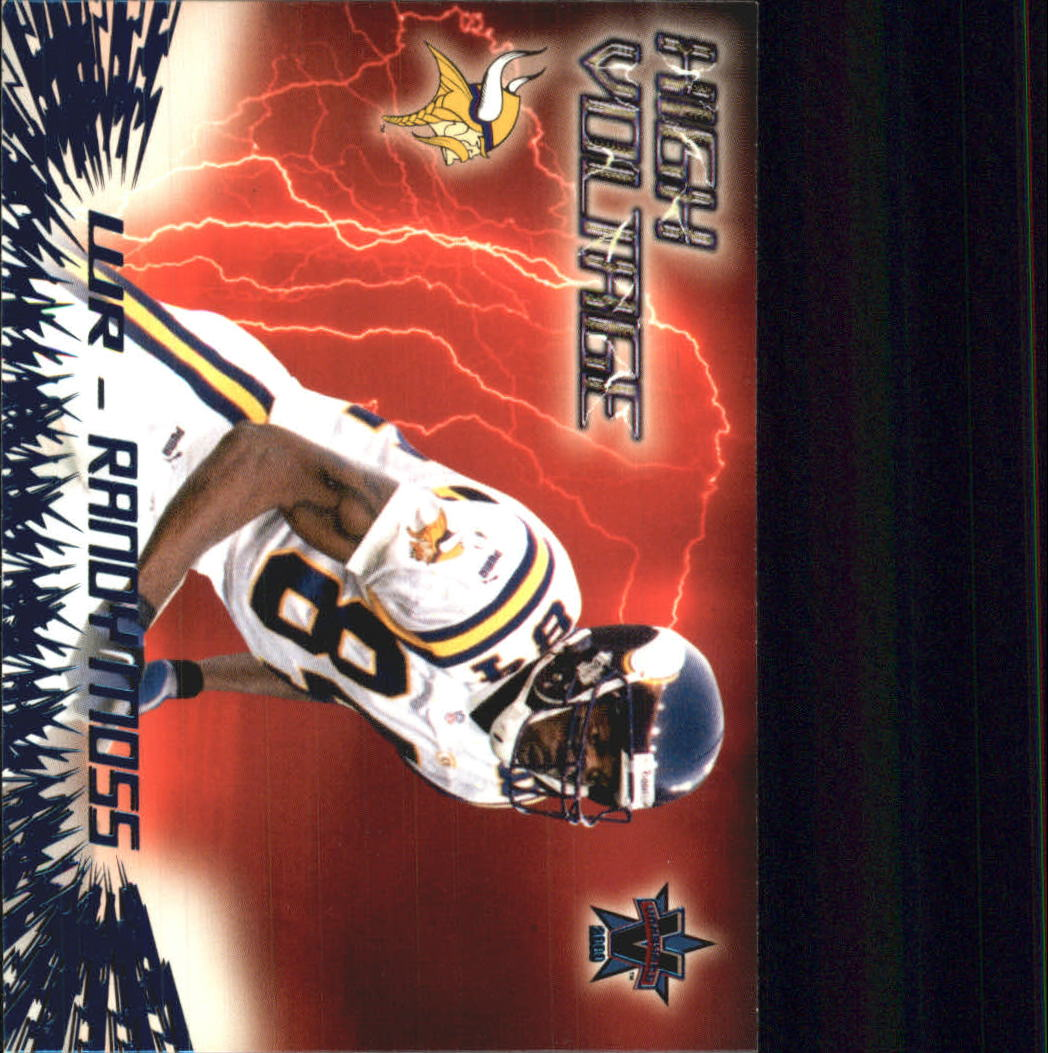 2000 Vanguard High Voltage #21 Randy Moss
