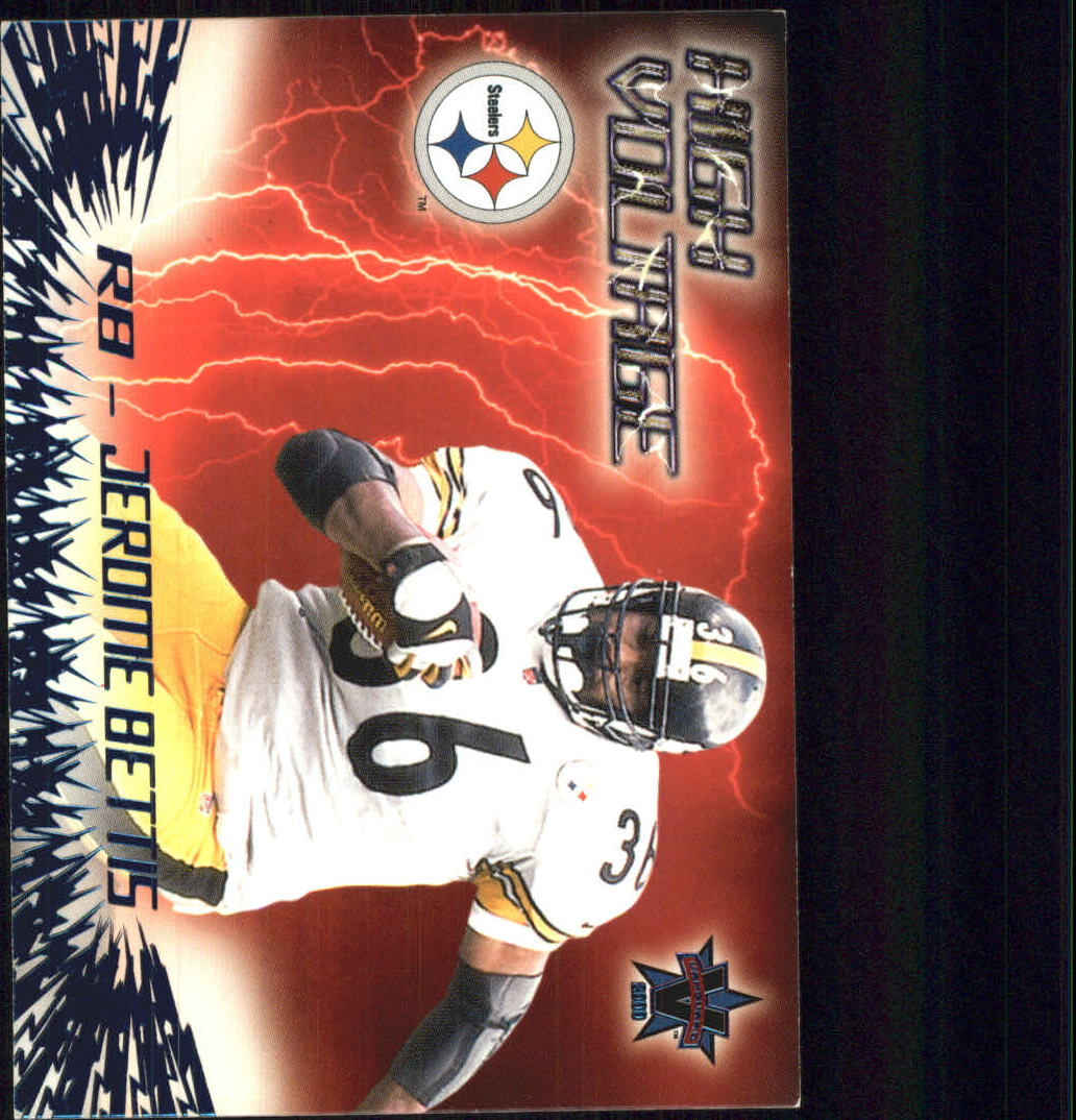 2000 Vanguard High Voltage #25 Jerome Bettis