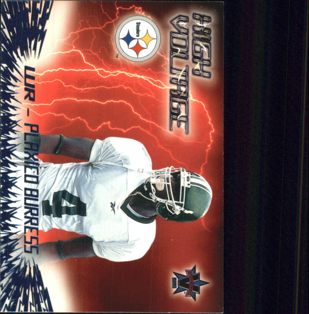 2000 Vanguard High Voltage #26 Plaxico Burress