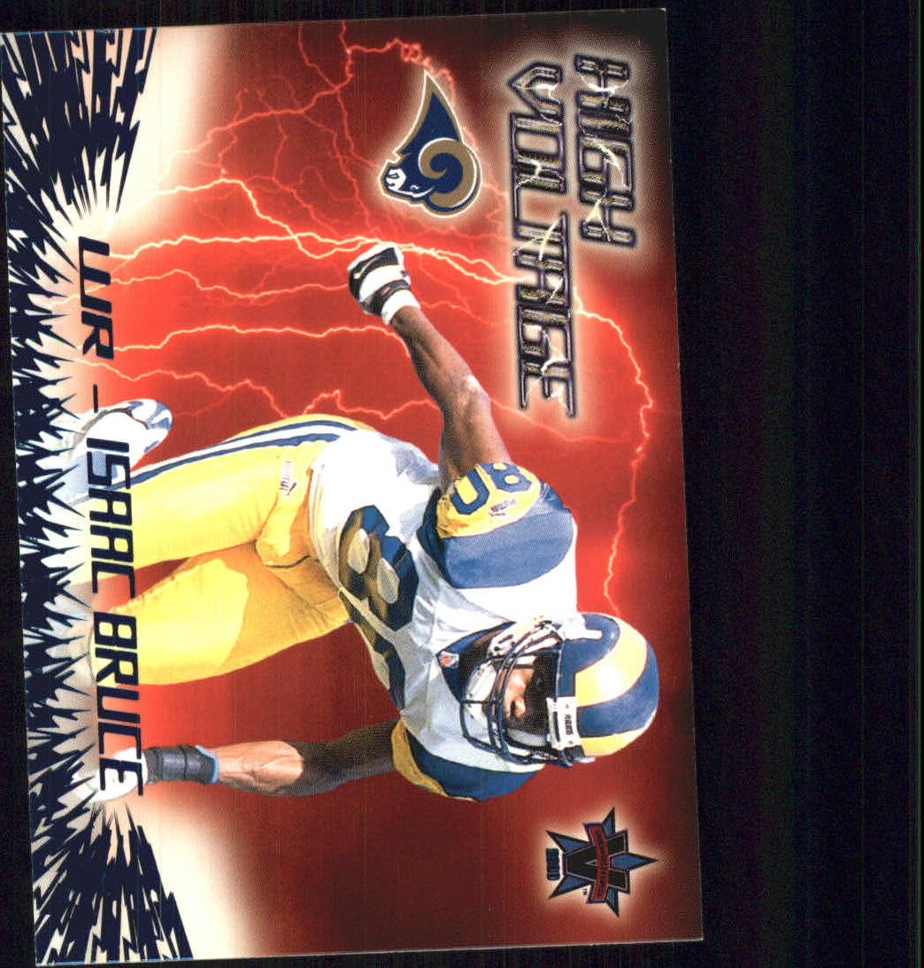 2000 Vanguard High Voltage #27 Isaac Bruce